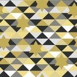 Teste padrão abstrato sem emenda no vetor com estrelas ilustração stock