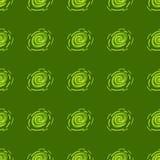 Teste padrão abstrato verde e amarelo Fotos de Stock