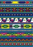 Teste padrão africano Foto de Stock Royalty Free