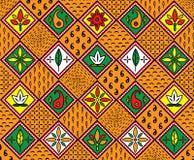 Teste padrão africano Fotos de Stock Royalty Free