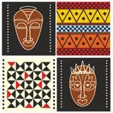 Teste padrão africano ilustração royalty free