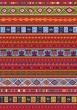 Teste padrão africano Imagem de Stock