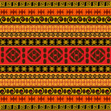 Teste padrão africano tradicional Fotos de Stock