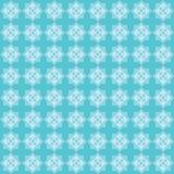 Teste padrão aguçado do azul da estrela oito Fotos de Stock Royalty Free