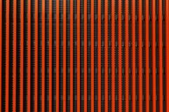 Teste padrão alaranjado listrado abstrato fotografia de stock