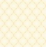 Teste padrão amarelo Imagens de Stock Royalty Free