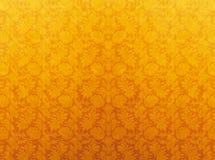 Teste padrão amarelo Fotografia de Stock Royalty Free