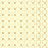Teste padrão amarelo abstrato Fotos de Stock Royalty Free