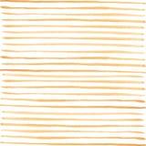 Teste padrão amarelo das listras da aquarela Foto de Stock Royalty Free