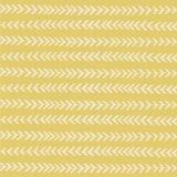 Teste padrão amarelo das listras sem emenda Imagens de Stock