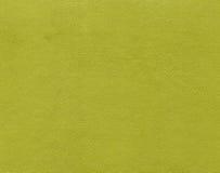 Teste padrão amarelo do couro artificial da cor Fotos de Stock Royalty Free