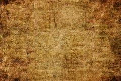 Teste padrão amarelo escuro da textura da pintura da lona de Rusty Distorted Decay Old Abstract do Grunge de Brown para Autumn Ba ilustração do vetor