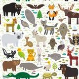 Teste padrão animal ilustração stock