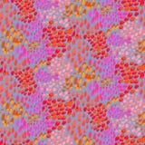 Teste padrão animal inspirado pela pele tropical dos peixes Imagem de Stock Royalty Free