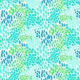 Teste padrão animal inspirado pela pele tropical dos peixes Fotografia de Stock