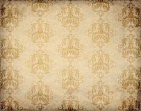 Teste padrão antiquado do papel de parede Fotos de Stock Royalty Free