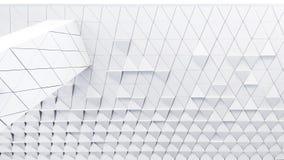 Teste padrão arquitectónico abstrato Fotos de Stock Royalty Free