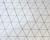 Teste padrão arquitetónico da ilustração 3D abstrata Fotografia de Stock