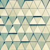 Teste padrão arquitetónico da ilustração 3D abstrata Imagens de Stock