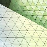 Teste padrão arquitetónico da ilustração 3D abstrata Imagem de Stock