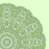 Teste padrão arredondado do maya Imagens de Stock Royalty Free