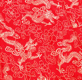 Teste padrão asiático do dragão Imagem de Stock