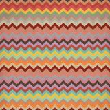 Teste padrão asteca da listra em matizes pastel Fotografia de Stock Royalty Free