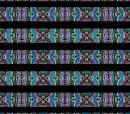 Teste padrão asteca do estilo Imagens de Stock