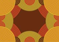 Teste padrão australiano Imagens de Stock Royalty Free