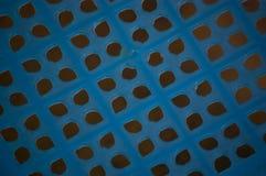 Teste padrão azul Fotos de Stock