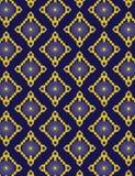 Teste padrão azul Foto de Stock Royalty Free
