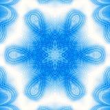 Teste padrão azul abstrato Foto de Stock
