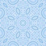 Teste padrão azul abstrato ilustração royalty free
