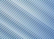 Teste padrão azul da parede do armazém do metal da cor Fotografia de Stock Royalty Free