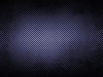 Textura azul da fibra do grunge Foto de Stock