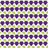 Teste padrão azul da uva Fotografia de Stock Royalty Free