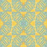 Teste padrão azul das espirais Imagem de Stock Royalty Free