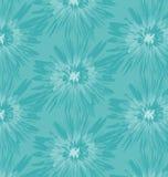 Teste padrão azul do Batik Imagens de Stock