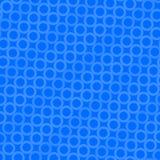 Teste padrão azul do círculo Foto de Stock
