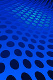 Teste padrão azul do ponto Foto de Stock