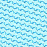 Teste padrão azul do retângulo Fotos de Stock