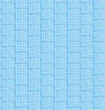 Teste padrão azul do sumário da rede. Fundo chequered sem emenda ilustração stock