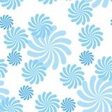 Teste padrão azul do vetor Foto de Stock