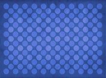 Teste padrão azul dos círculos do vintage Fotografia de Stock