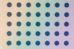 Teste padrão azul dos círculos, fundo geométrico, contexto do inclinação do ofício fotos de stock