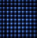 Teste padrão azul e preto do fundo Imagem de Stock Royalty Free