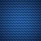 Teste padrão azul fresco de Chevron Imagens de Stock