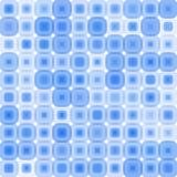Teste padrão azul retro Imagens de Stock