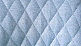 Teste padrão azul sem emenda do rombo de matéria têxtil da tela fotografia de stock