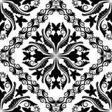 Teste padrão barroco Imagem de Stock